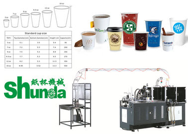 Automatic Paper Cups Manufacturing Machines Coffee Tea Ice Cream Cup Making